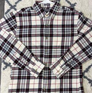 Eddie Bauer Favorite Classic Fit Flannel Shirt